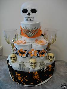 halloween toilet paper cake dars designs diaper cakes and more